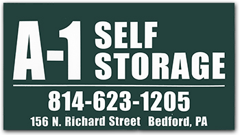 A-1 Self Storage sign
